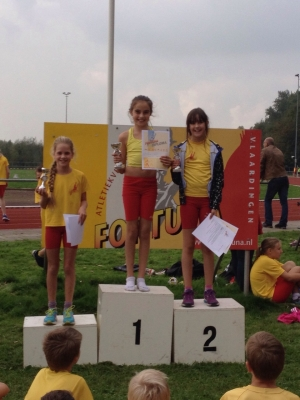 CK outdoor 2014 Podium Pup