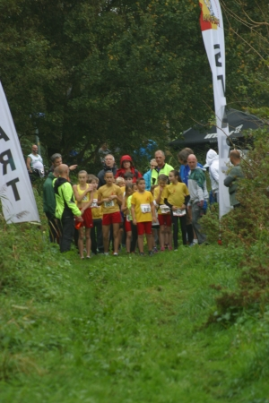 Start jeugdcross